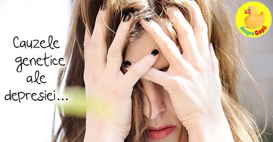 Cauzele genetice ale depresiei