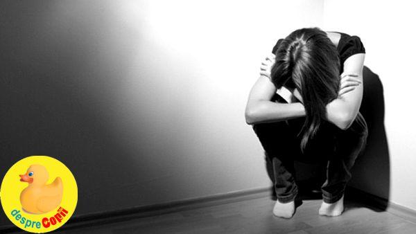 Cum depistam depresia la copilul adolescent