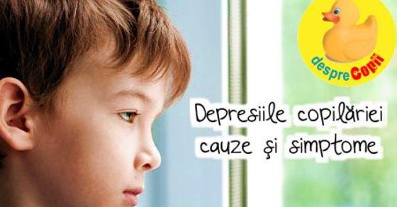 Depresiile copilariei: cauze si simptome