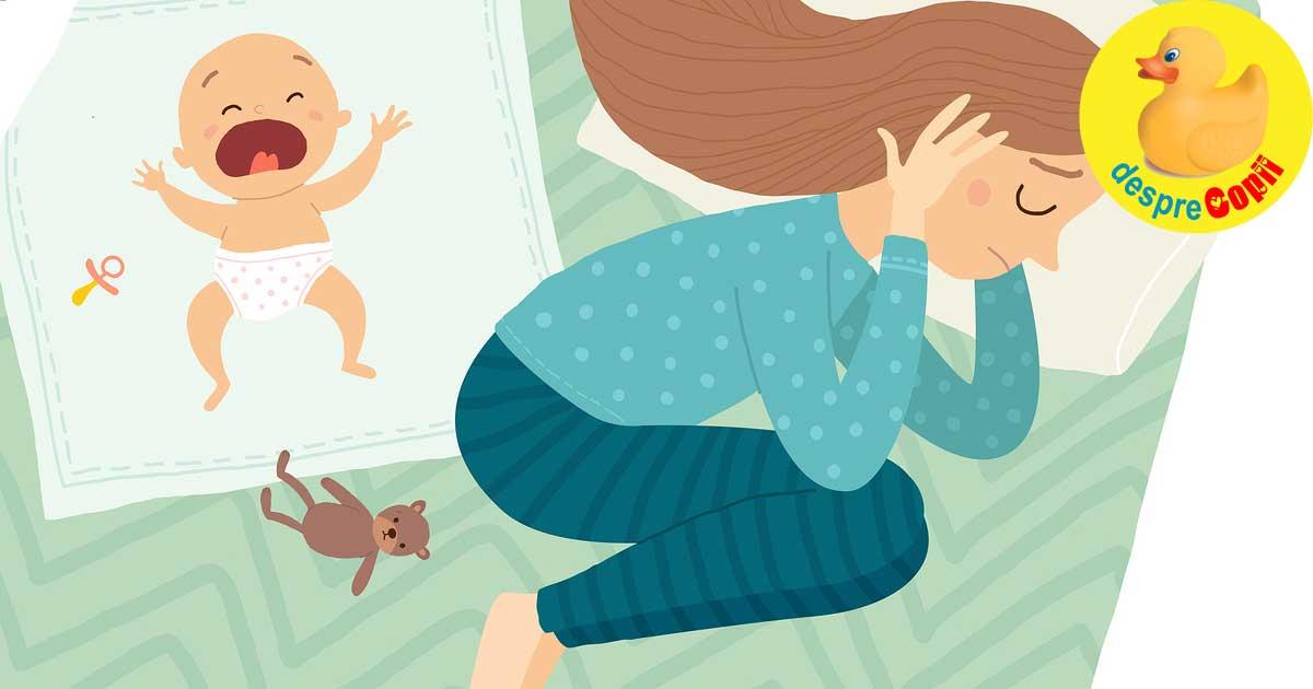 Depresia postnatala: cum iti poti da seama ca esti afectata si ce trebuie sa stii