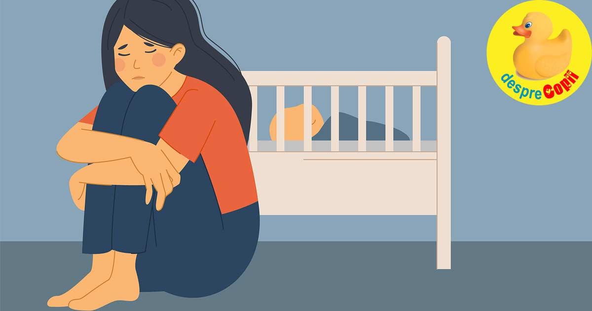 Zilele gri ale meseriei de mamica incepatoare - despre depresia postpartum