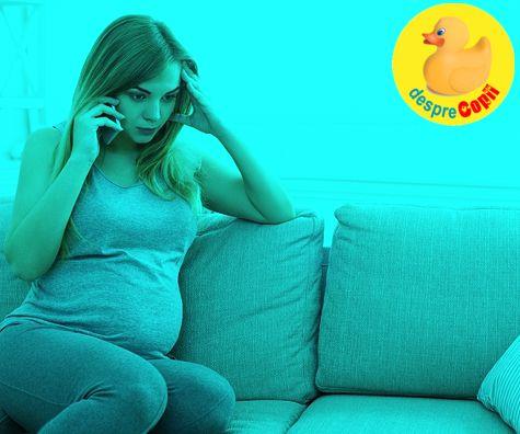 Depresia in timpul sarcinii