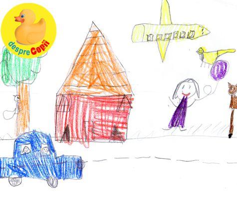Ce semnificatii pot avea desenele copiilor?
