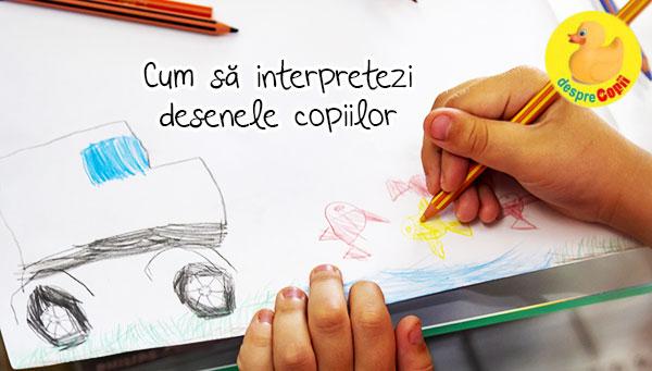 Cum putem interpreta desenele copiilor si ce emotii se pot ascunde in spatele lor