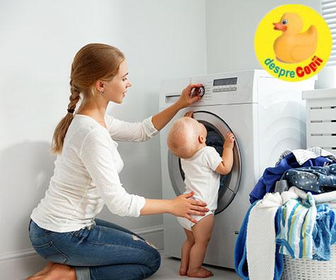 Cum spalam hainele bebelusului si ce detergenti folosim?