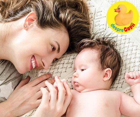 Dezvoltarea normala a bebelusului in primul an de viata