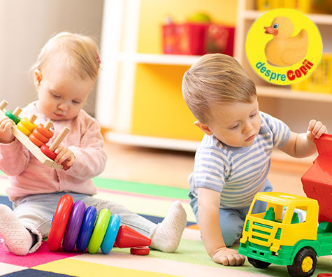 Dezvoltarea fizica a bebelusului prin joaca