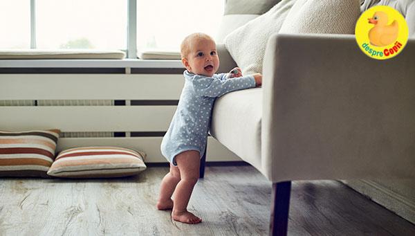 Etapele dezvoltarii fizice la bebelusi