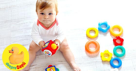 Dezvoltarea cognitiva a copilului si jucarii care o sustin