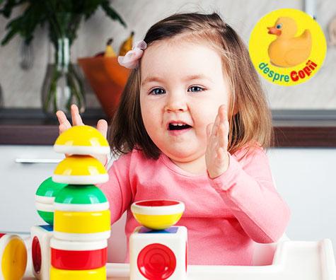 Dezvoltarea cognitiva a copilului de 2 ani