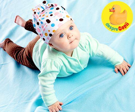 Dezvoltarea motorie a bebelusului: de la nastere pana la momentul suprem cand merge singur