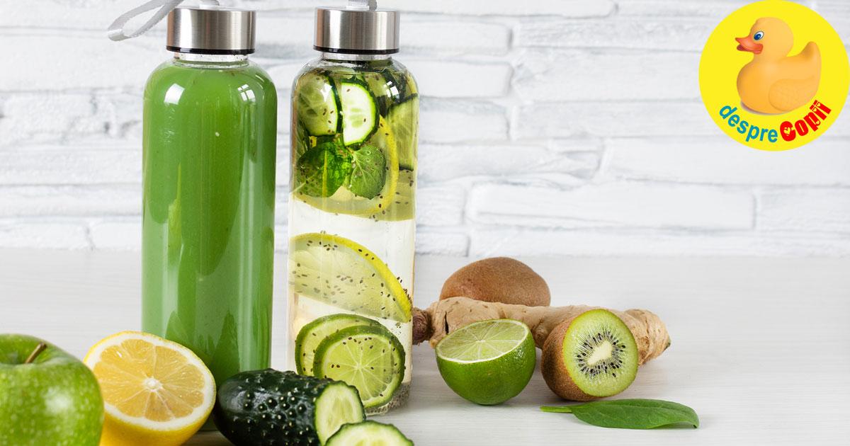 Miturile dietelor de detoxifiere