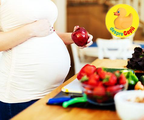 Sanatatea copilului este modelata in uter de gene si de alimentatia mamei