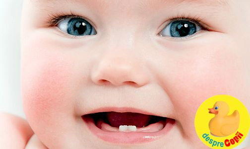 Ingrijirea danturii bebelusului