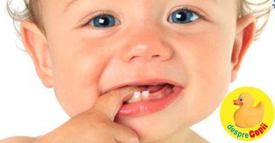 Dintii de lapte: de ce sunt importanti si cum se ingrijesc