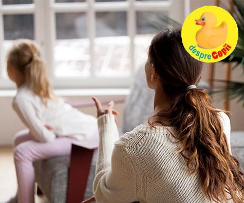Rolul consecventei in disciplina copilului: 4 moduri de a o folosi eficient
