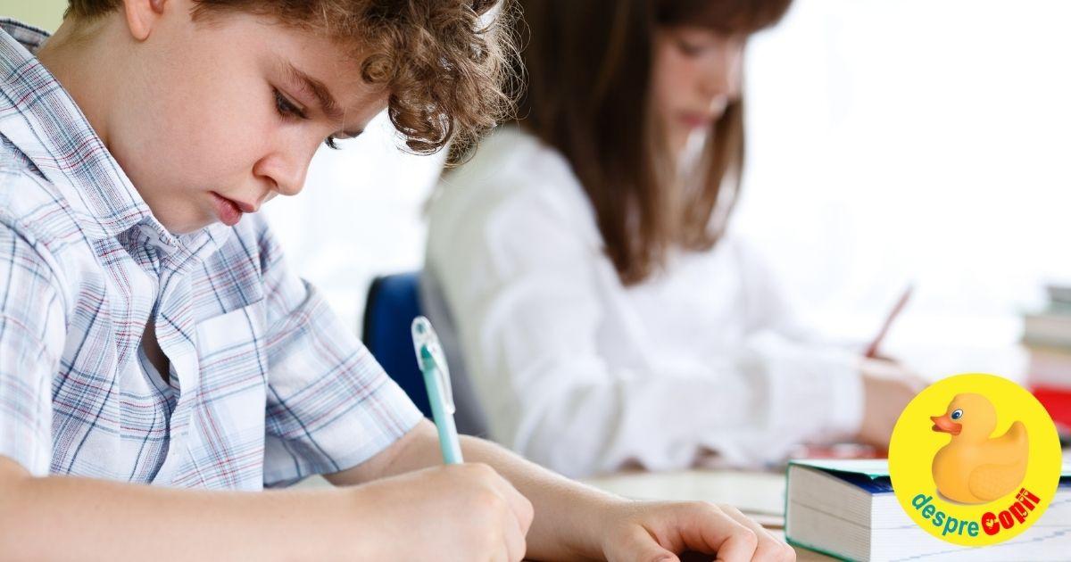 Dislexia la copil: cauze si tipuri. Cum poate influenta procesul de invatare al copilului.