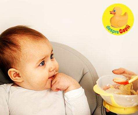 Introducerea cerealelor in alimentatia bebelusului - ce trebuie stiut