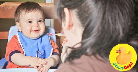 Copiii care incep prea devreme diversificarea sunt mai predispusi la obezitate