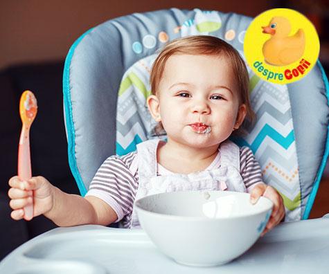 Rolul alimentelor fortifiate in dezvoltarea celor mici