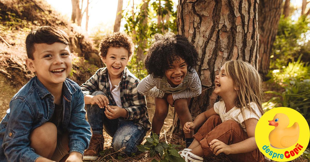 Responsabilitatea parintilor de azi: Educatia pentru diversitate a copiilor