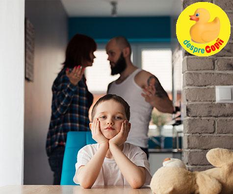 Mesaj catre parintii divortati: 7 metode prin care va folositi copiii drept pioni de lupta