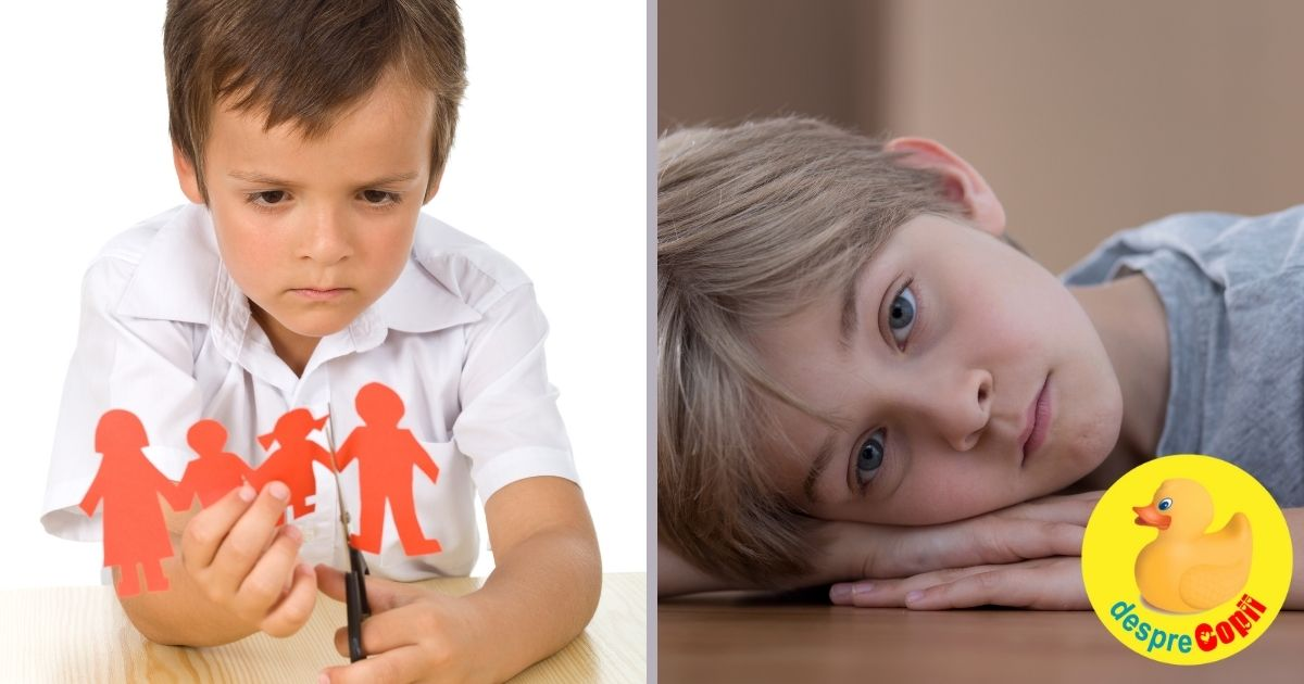 Divortul parintilor: cum ii afecteaza pe copii