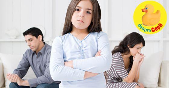 Pregatiti-va copiii pentru divort: ce trebuie spus copilului si ce nu