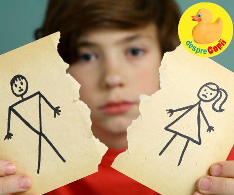 Divortul parintilor si cum sufera copiii pe urma lui