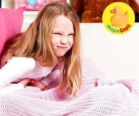 Cand copilul se plange des ca il doare burtica