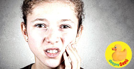 Durerile dentare afecteaza puterea de concentrare a copilului