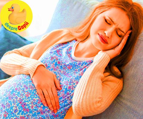 Iata cand durerile de cap sunt periculoase in timpul sarcinii