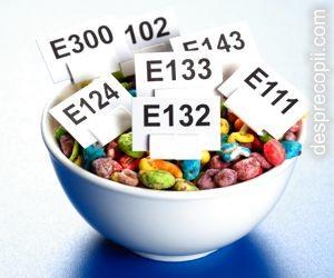 E-uri din alimente care trebuiesc evitate cu orice pret