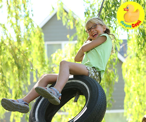 Cum sa imbunatatesti coordonarea si echilibrul copilului tau - 5 sfaturi de aplicat