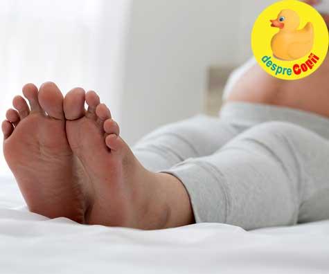 Umflarea picioarelor si degetelor sau edemul in sarcina - cand este normal si cand nu