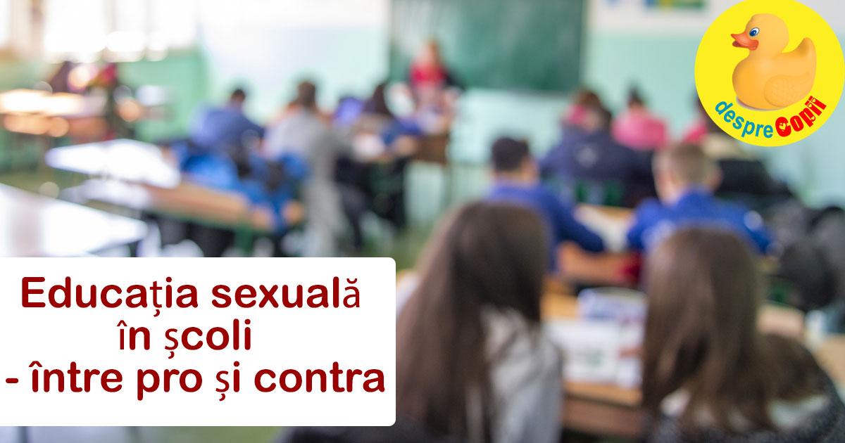 Educatia sexuala este necesara in scoli. Iata de ce credem asta - parerea Desprecopii