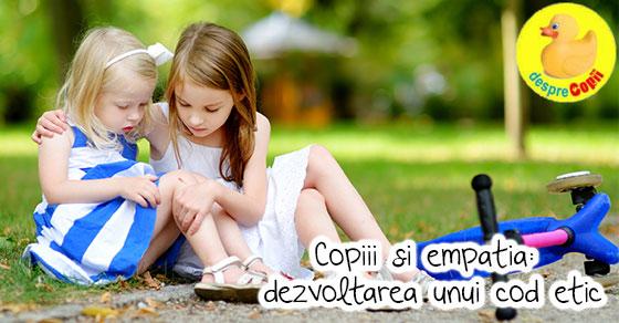 Empatia, o lectie necesara pentru stabilitatea emotionala a copilului