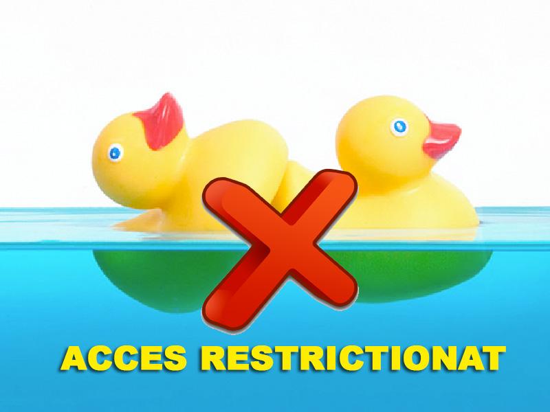 EROARE: Accesul la aceasta pagina este restrictionat!