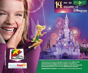 14 ani de Propolis C, 14 excursii la Disneyland Paris!