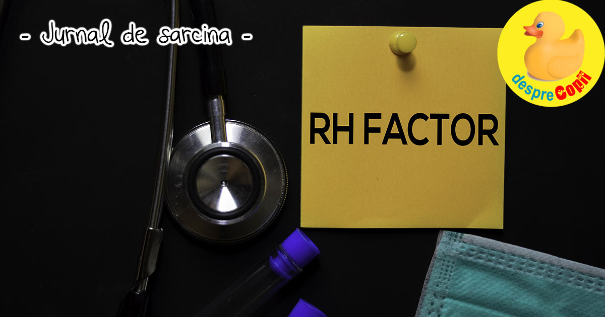 Rh-ul incompatibil in sarcina - jurnal de sarcina