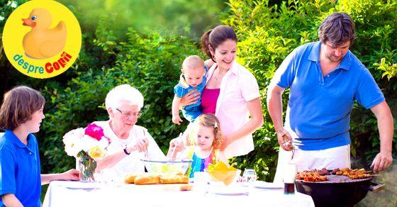 Cele mai frumoase amintiri din viata sunt cele din familie