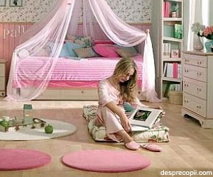 Idei pentru camera fetelor adolescente