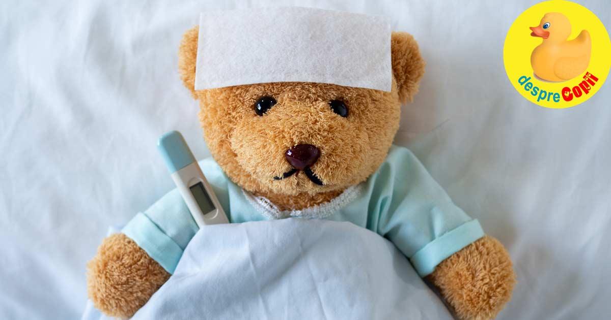 Febra la copil: cauze si mituri