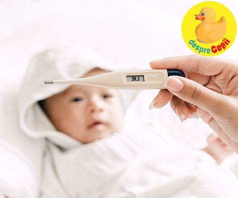 Febra copilului: cand este momentul sa te ingrijorezi si cand nu