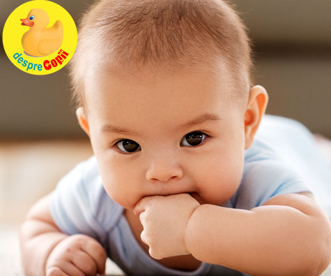 Aparitia dintilor nu provoaca febra bebelusului - este doar un mit