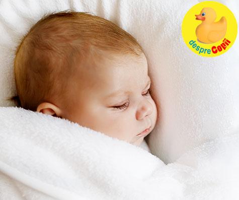 Imbunatatirea somnului bebelusului cu Metoda Ferber: mituri si realitati
