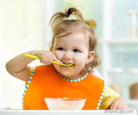 Sfaturi pentru alimentatia copilului 1-3 ani