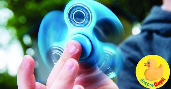 Fidget Spinners,  jucaria cu beneficii  si cum si-o pot construi singuri copiii