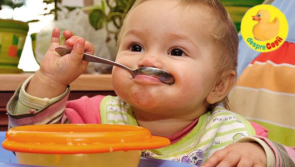 Importanta fierului in alimentatia copiilor