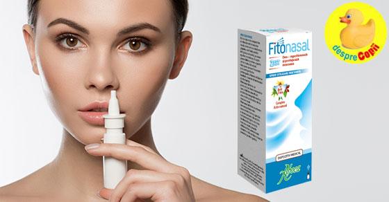 FITONASAL 2ACT: Elibereaza nasul infundat, protejandu-l